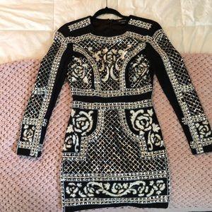 Balmain inspired BEBE dress